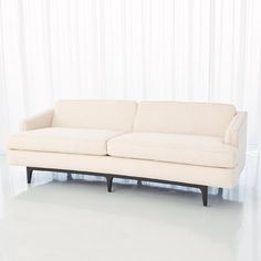 Global Views Crescent Avada Standard Sofa