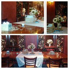 Jen Pierman Event Design. Bridal Shower. Center pieces. Hotel Diamond 2015 chico, ca