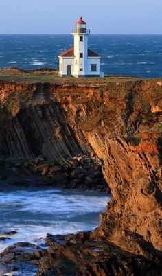 Cape Arago Light formerly known as Cape Gregory Light is located in Charleston, Oregon, USA which is located 2.6 miles north of Cape Arago.