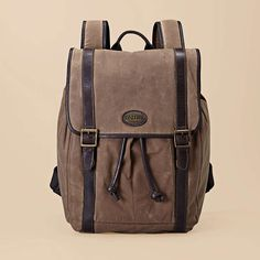 FOSSIL® Bag Collections Estate. I need this for adventures, like museum visits and other non-camping but backpack needing adventures