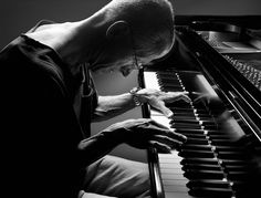 Keith Jarrett - by Henry Leutwyler