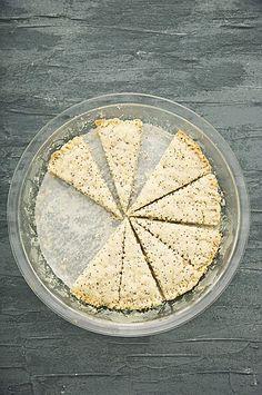 Everyday Any Way Lemon-Poppy Seed Shortbread