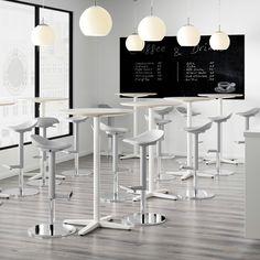 JANINGE Bar stool, gray - IKEA