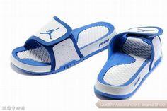c2d9e4a782623b nike air jordan 2 retro blue white hydro slide sandals sneakers p 3505 New Jordans  Shoes