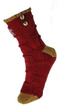Ravelry: Ironman's Socks pattern by New Girl Knits