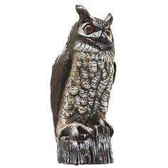 Gardeneer By Dalen Natural Enemy Scarecrow Great Horned Owl  | eBay