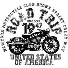 Estampa para camiseta Carros/Motos 002912                                                                                                                                                                                 Mais