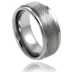 Tungsten Carbide 8MM Wedding Band Ring With Laser Etched Celtic Knot Design (13.5) Tungsten Carbide Ring http://www.amazon.com/dp/B00BG2D3PA/ref=cm_sw_r_pi_dp_vBrzwb0435TJ1