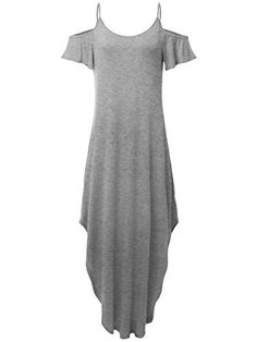 New Trending Formal Dresses: Prime Sale JayJay Women Casual U-Neck Off Shoulder Ruffle Sleeve Long Maxi Dress,HEATHERGRAY,M. Prime Sale JayJay Women Casual U-Neck Off Shoulder Ruffle Sleeve Long Maxi Dress,HEATHERGRAY,M  Special Offer: $19.99  433 Reviews JayJay Women Casual U-Neck Off Shoulder Ruffle Sleeve Long Maxi DressBUY NOW! DO NOT MISS **SPECIAL PRICE DEAL!***The size chart is attached to the last...
