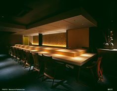 Click to close image, click and drag to move. Use arrow keys for next and previous. Japanese Restaurant Interior, Japan Interior, Restaurant Interior Design, Sushi Bar Design, Sushi Restaurants, Cafe Restaurant, Arrow Keys, Close Image, Fine Dining