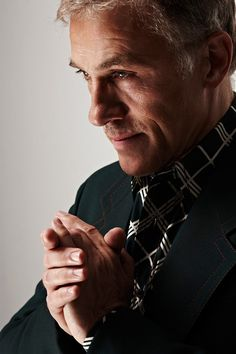 Christoph Waltz.  Image by Nigel Parry.