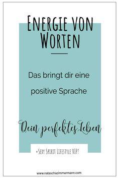 Energie von Worten - Das bringt dir eine positive Sprache. #spiritualität #spirituell #persönlichkleitsentwicklung #glücklich #wohlbefinden Mental Training, Meditation, Stress Management, Letter Board, Depression, Coaching, Lettering, Inspiration, Yoga