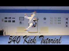 Taekwondo 540 Kick Tutorial - YouTube
