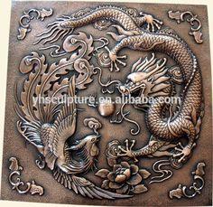 Bronze Dragon Relief Statue Sculpture for Wall Decoration Dragon Quotes, American Dragon, Bronze Dragon, Wall Sculptures, Craft Gifts, Wall Decor, Statue, Decoration, Art