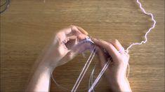 """Curso trico - Querido Tricot: diminuição """"passar, passar, tricotar meia""""..."""