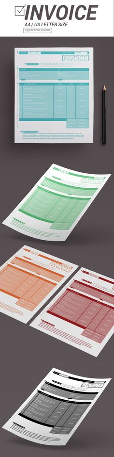 Invoice Template on Behance