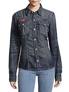 6e5512b9dabe True Religion - Western Cotton Shirt