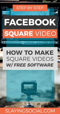 Super easy tutorial Super easy tutorial showing you how to make a square video with Adobe Premiere Pro iMovie Keynote and Movie Maker Powerpoint. Using Facebook For Business, How To Use Facebook, Like Facebook, Facebook Marketing Strategy, Business Marketing, Social Media Marketing, Business Tips, Marketing Jobs, Content Marketing