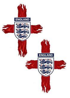 England Badge, England Tattoo, St George Flag, Blackpool Fc, Millwall Fc, Leeds United Football, Manchester United Wallpaper, England National Team, Latest Tattoos