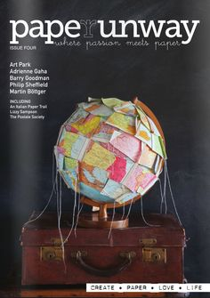 Paper Runway magazine january/2012 #paper #party #illustration #DIY #free