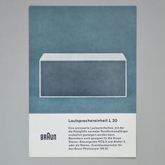 Braun product cards