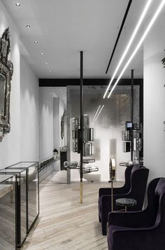 Ileana Makri Store by Kois Associated Architects Column Design, Ileana Makri, Shop Interiors, Retail Design, Jewelry Shop, Design Inspiration, Store, Architects, Public