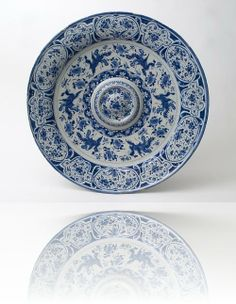 Delft Blue Charger - Antique Ceramics & Delft Blue (Dutch Delftware) | Van Nie Antiquairs