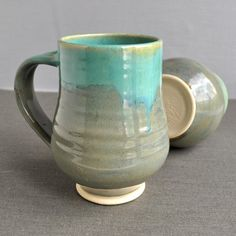 Mug or Beer Stein wheel thrown pottery