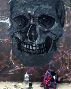 Process to my piece #Art #Arte #graffiti #Disciplina #mural #faces #Cráneo #Life #graffitiart #friends #streetart #muralism #collaboration #Paint #Perú #bestartpage #artfido #artistsdrop #artistsoninstagram #artist_unity_ #artist_discover #globalstreetart #urbanart #artist_showcase #Perú #Pinterest #Jech