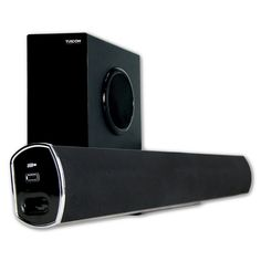 Upgrade your small to medium sized TV and entertainment system with serious quality and crisp audio, Turcom TS-404 is the solution you are looking for. It can be conveniently placed on a table or users can mount it on the wall.