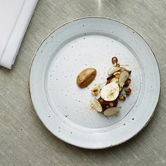 Bjorn Frantzen: mollejas y bechamel tostada.