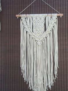 Beautiful hand made wall hanging 100% cotton Made in Chile