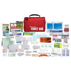 Amazon.com: American Red Cross Disaster & Emergency Kit by First Aid Only: Health & Personal Care