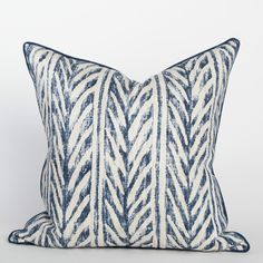 Thatched Herringbone Pillow - Lanai Collection