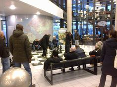 Schaakspel in de Centrale Bibliotheek Rotterdam