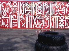 Wynwood walls, Street art, Miami - Retna
