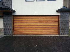 Cedar Garage Doors Contemporary Garage Doors Toronto By Maple
