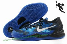 Nike Zoom Kobe VIII 8 Basketball shoes royal blue black Style 555035 401