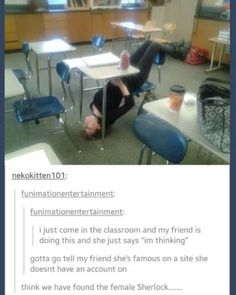 we had those exact desks at my high school, i used to lay across them awkwardly and figured out a lot of different ways to use them other than the intended design