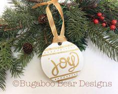Best joy ornaments images diy christmas