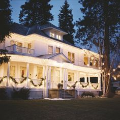 The White House: Coeur d' Alene Wedding Venue. Where I'm getting married to my man in January!