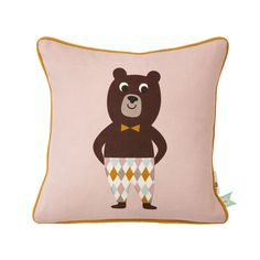 Bear cushion - Cushions - Textiles -  The most comprehensive selection of Finnish and Scandinavian design online. All in-stock items ships within 24 hours!