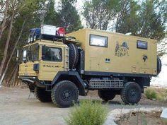 Camper Boat, Truck Camper, Camper Caravan, Overland Truck, Expedition Vehicle, 4x4 Trucks, Build A Camper Van, Off Road Camping, Adventure Campers