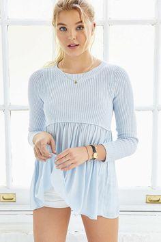 Kimchi Blue Babydoll Sweater