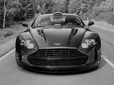 Aston Martin Vanquish Carbon Fiber Body