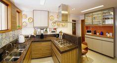 Cozinha projetada pela Designer de Interiores, Cristina Danese de Vitória no Espírito Santo!