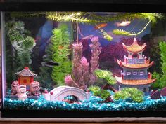 How to Build Aquarium Decoration Themes: Cool Dragon Chinese Aquarium Decoration Themes ~ Banffkiosk Decoration Inspiration