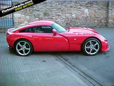 TVR Sagaris these cars were made near Blackpool England they are very light come with inline six or V8 Engines with lots of Power there in no safety mods to bring the car back in line this is  a real drivers car