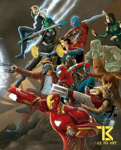 Avengers Infinity War will be the best Marvel movie Marvel Avengers Assemble, Marvel Dc Comics, Marvel Heroes, Captain Marvel, Univers Marvel, Logo Super Heros, Best Marvel Movies, Mundo Marvel, Marvel Drawings