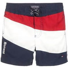 Discover our extensive Tommy Hilfiger range including jackets, sweaters, shirts, dresses and more. Shop Tommy Hilfiger kids for boys, girls and babies. Tommy Hilfiger Kids, Boy Blue, Swim Shorts, Underwear, Blue And White, Boys, Swimwear, Red, Sweaters